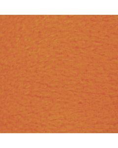 Fleece, L: 125 cm, B: 150 cm, 200 g, orange, 1 stk.