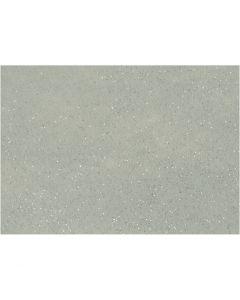 Hobbyfilt, A4, 210x297 mm, tykkelse 1 mm, grå, 10 ark/ 1 pk.