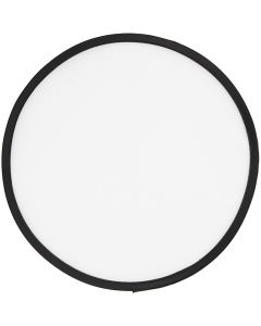 Frisbee, dia. 25 cm, hvit, 1 stk.