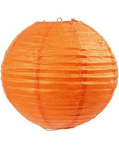 Papirlampe, dia. 20 cm, orange, 1 stk.