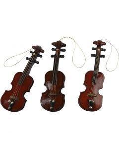 Fiolin, L: 8 cm, 12 stk./ 1 pk.
