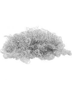 Krøllhår, lys grå, 15 g/ 1 pk.