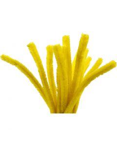 Piperensere, L: 30 cm, tykkelse 15 mm, gul, 15 stk./ 1 pk.
