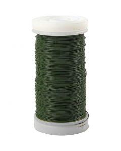 Myrtetråd, tykkelse 0,31 mm, 100 g, grønn, 160 m/ 1 rl.