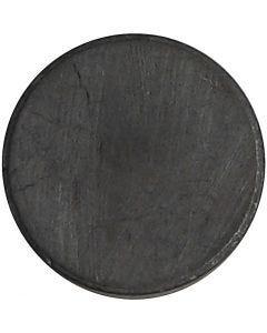 Magnet, dia. 14,5 mm, tykkelse 3 mm, 50 stk./ 1 pk.