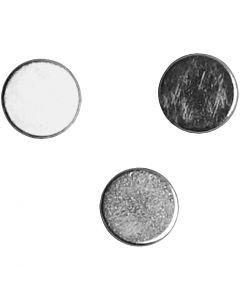 Powermagnet, dia. 5 mm, tykkelse 2 mm, 10 stk./ 1 pk.