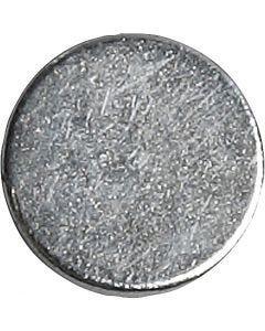 Powermagnet, dia. 10 mm, tykkelse 2 mm, 10 stk./ 1 pk.