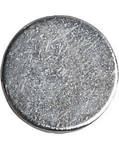 Powermagnet, dia. 10 mm, tykkelse 2 mm, 100 stk./ 1 pk.