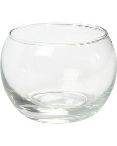 Lysglass, H: 7 cm, dia. 8 cm, 12 stk./ 1 kasse