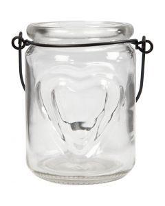 Lanterne, H: 9,5 cm, dia. 6,5 cm, 2 stk./ 1 pk.