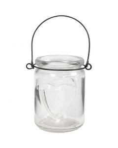 Lanterne, H: 9,5 cm, dia. 6,5 cm, 12 stk./ 1 kasse