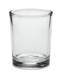 Te-Lys holder, H: 6,5 cm, dia. 4,5 cm, 4 stk./ 1 pk.