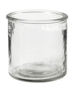 Lysglass, H: 7,8 cm, 6 stk./ 1 kasse