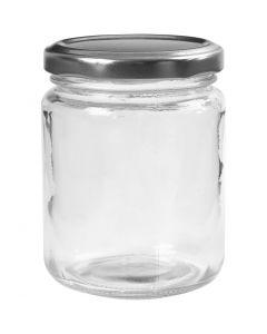 Sylteglass, H: 9,1 cm, dia. 6,8 cm, 240 ml, transparent, 12 stk./ 1 kasse