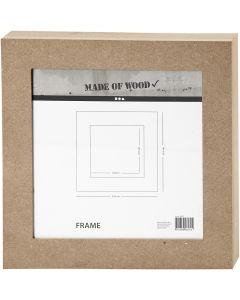 Ramme , str. 30,5x30,5 cm, 1 stk.