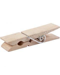 Mini huskeklype, L: 7,2 cm, B: 2 cm, 10 stk./ 1 pk.