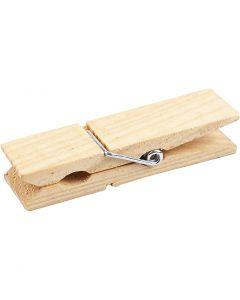 Mini huskeklype, L: 7,2 cm, B: 2 cm, 4 stk./ 1 pk.