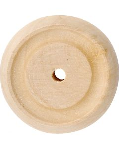 Hjul, dia. 30x10 mm, 40 stk./ 1 pk.