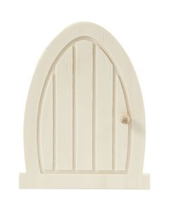 Dør, str. 10x13x0,5 cm, 1 stk.