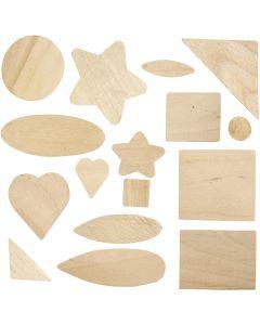 Mosaikk, str. 1,3-5,5 cm, 60 stk./ 1 pk.