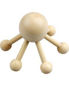 Massasje-edderkopp, H: 10 cm, B: 13 cm, 1 stk.