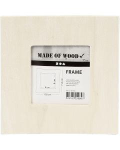 Ramme, str. 15,8x15,8 cm, 1 stk.