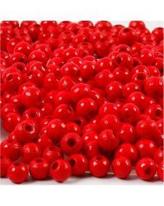 Treperler, dia. 5 mm, hullstr. 1,5 mm, rød, 6 g/ 1 pk., 150 stk.