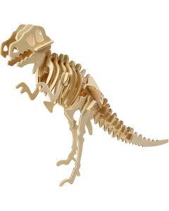 3D konstruksjonsfigur, dinosaur, str. 33x8x23 cm, 1 stk.