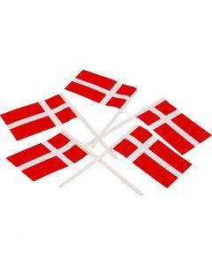 Kakeflagg, str. 30x50 mm, 100 stk./ 1 pk.