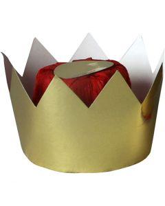 Dronningkrone, H: 7 cm, dia. 9 cm, 1 stk.