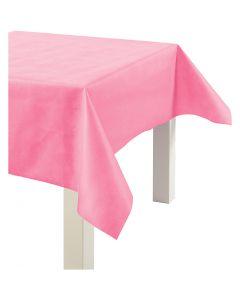 Duk av imitert stoff, B: 125 cm, 70 g, pink, 10 m/ 1 rl.