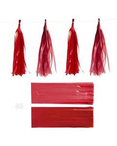 Dusk, str. 12x35 cm, 14 g, vinrød/rød, 12 stk./ 1 pk.