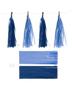 Dusk, str. 12x35 cm, 14 g, mørk blå/lys blå, 12 stk./ 1 pk.