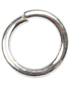 O-ring, str. 4,4 mm, tykkelse 0,7 mm, forsølvet, 500 stk./ 1 pk.