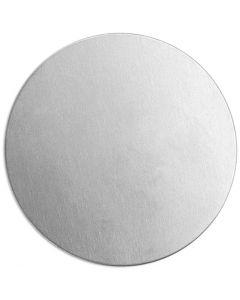 Tag, Rund, dia. 20 mm, tykkelse 1,3 mm, aluminium, 15 stk./ 1 pk.