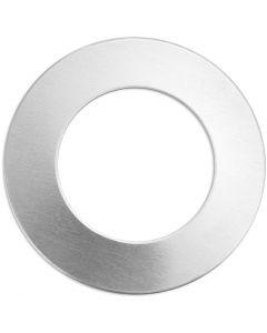 Tag, Ring, dia. 32 mm, hullstr. 19,32 mm, tykkelse 1,3 mm, aluminium, 9 stk./ 1 pk.