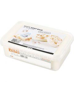 Såpemasse med shea, hvit, 1 kg