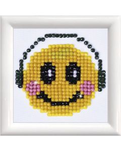 Diamant Dotz, smiley, str. 7,6x7,6 cm, 1 pk.