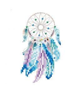 Diamant Dotz, drømmefanger, kort str. 12,6x17,7 cm, konvolutt str. 13,6x18,6 cm, 1 pk.