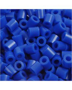 Rørperler, str. 5x5 mm, hullstr. 2,5 mm, medium, mørk blå (32232), 6000 stk./ 1 pk.