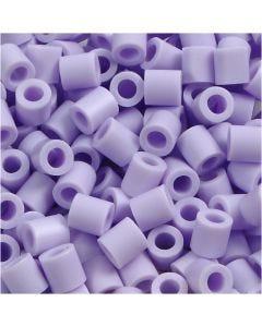 Rørperler, str. 5x5 mm, hullstr. 2,5 mm, medium, lilac (32245), 6000 stk./ 1 pk.