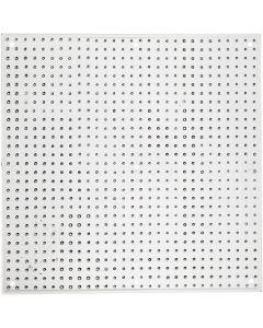 Perleplate, str. 14,5x14,5 cm, 10 stk./ 1 pk.