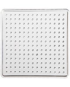 Perleplate, str. 7x7 cm, 10 stk./ 1 pk.