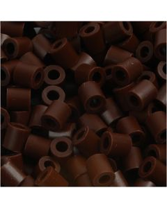 PhotoPearls, str. 5x5 mm, hullstr. 2,5 mm, brun (3), 1100 stk./ 1 pk.