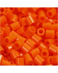 PhotoPearls, str. 5x5 mm, hullstr. 2,5 mm, orange, klar (13), 1100 stk./ 1 pk.