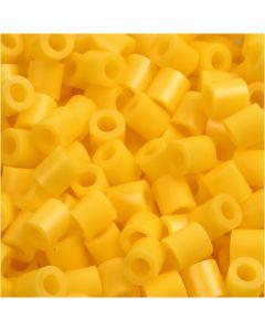 PhotoPearls, str. 5x5 mm, hullstr. 2,5 mm, gul (14), 6000 stk./ 1 pk.