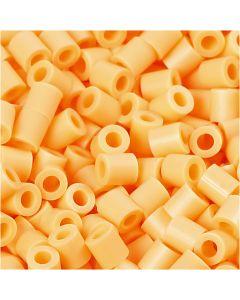 PhotoPearls, str. 5x5 mm, hullstr. 2,5 mm, lys orange (26), 6000 stk./ 1 pk.