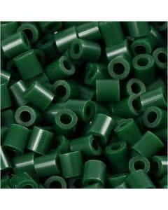 PhotoPearls, str. 5x5 mm, hullstr. 2,5 mm, mørk grønn (9), 6000 stk./ 1 pk.