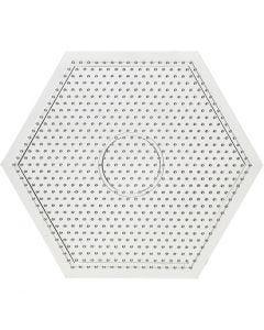 Perleplate, str. 15x15 cm, 10 stk./ 1 pk.