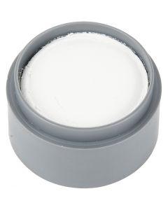 Grimas Ansiktsmaling, hvit, 15 ml/ 1 boks